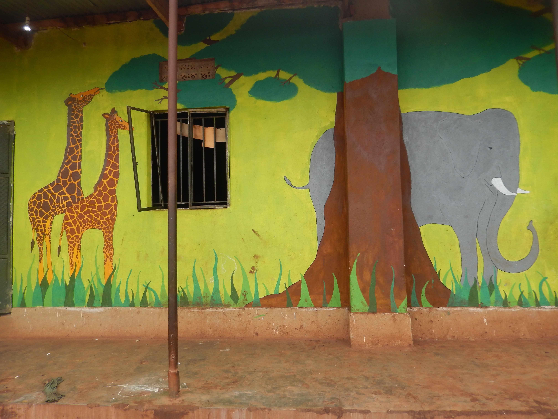 Schulegebäude der Mt Zion