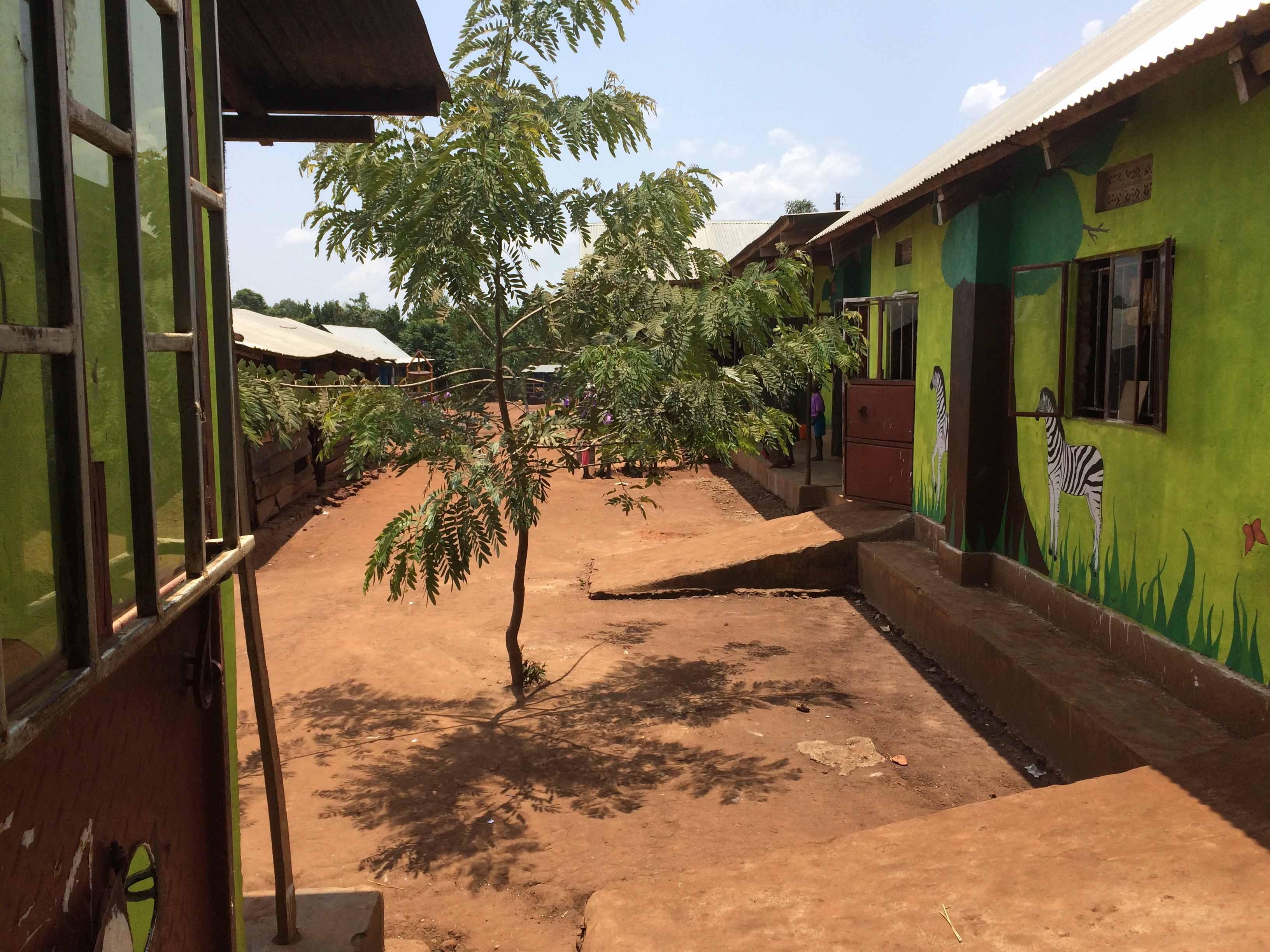 Schulhof der Mt Zion