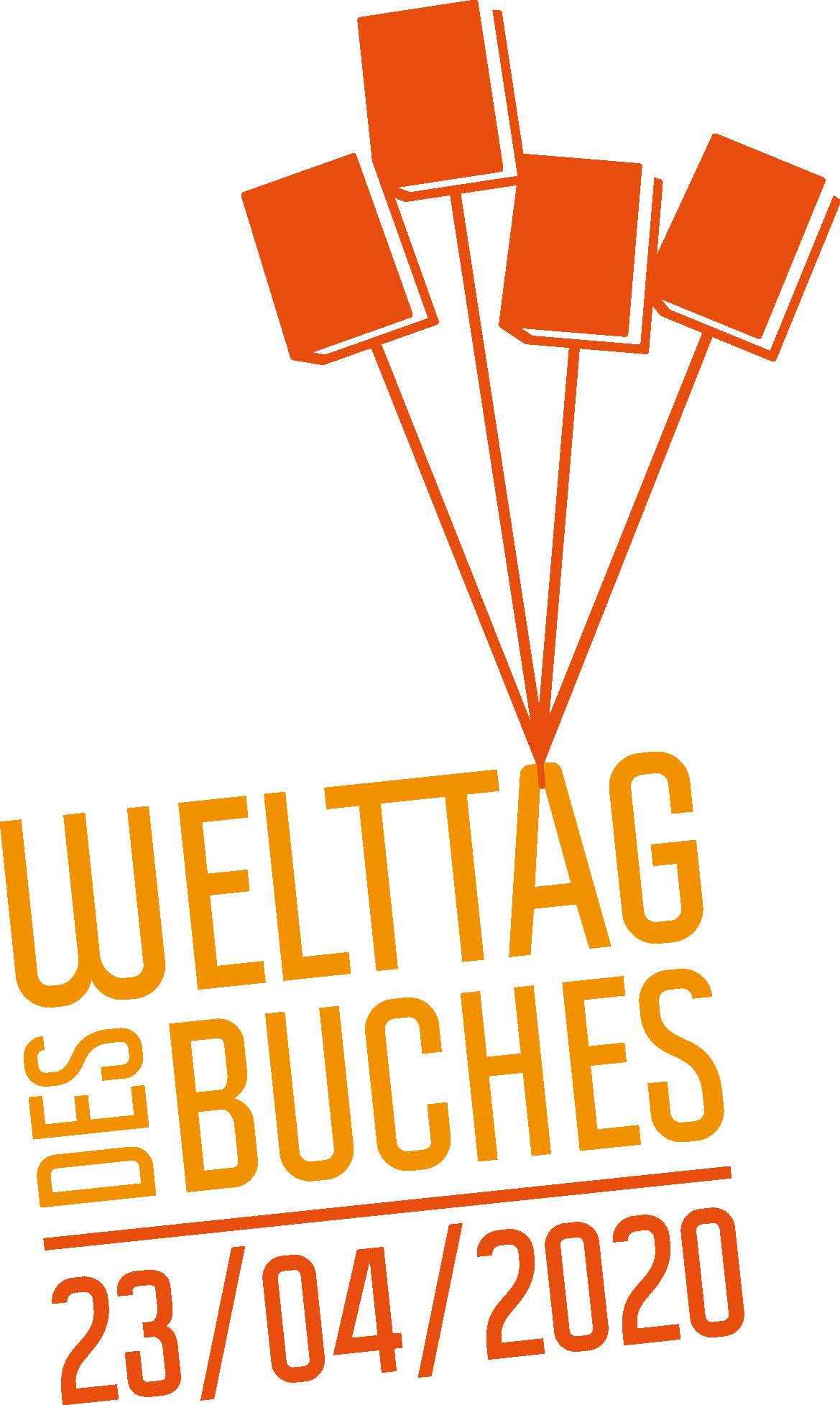 """Das Logo zum """"Welttag des Buches 2020""""."""