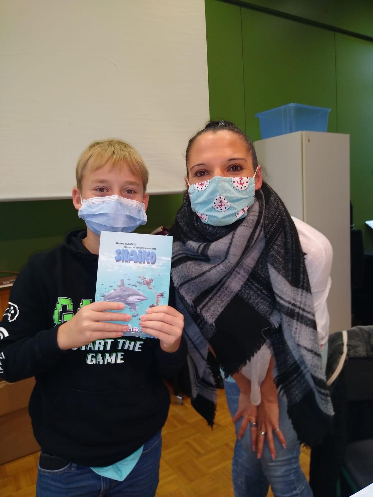 Susanne Glanzner macht Schüler glücklich und stolz.