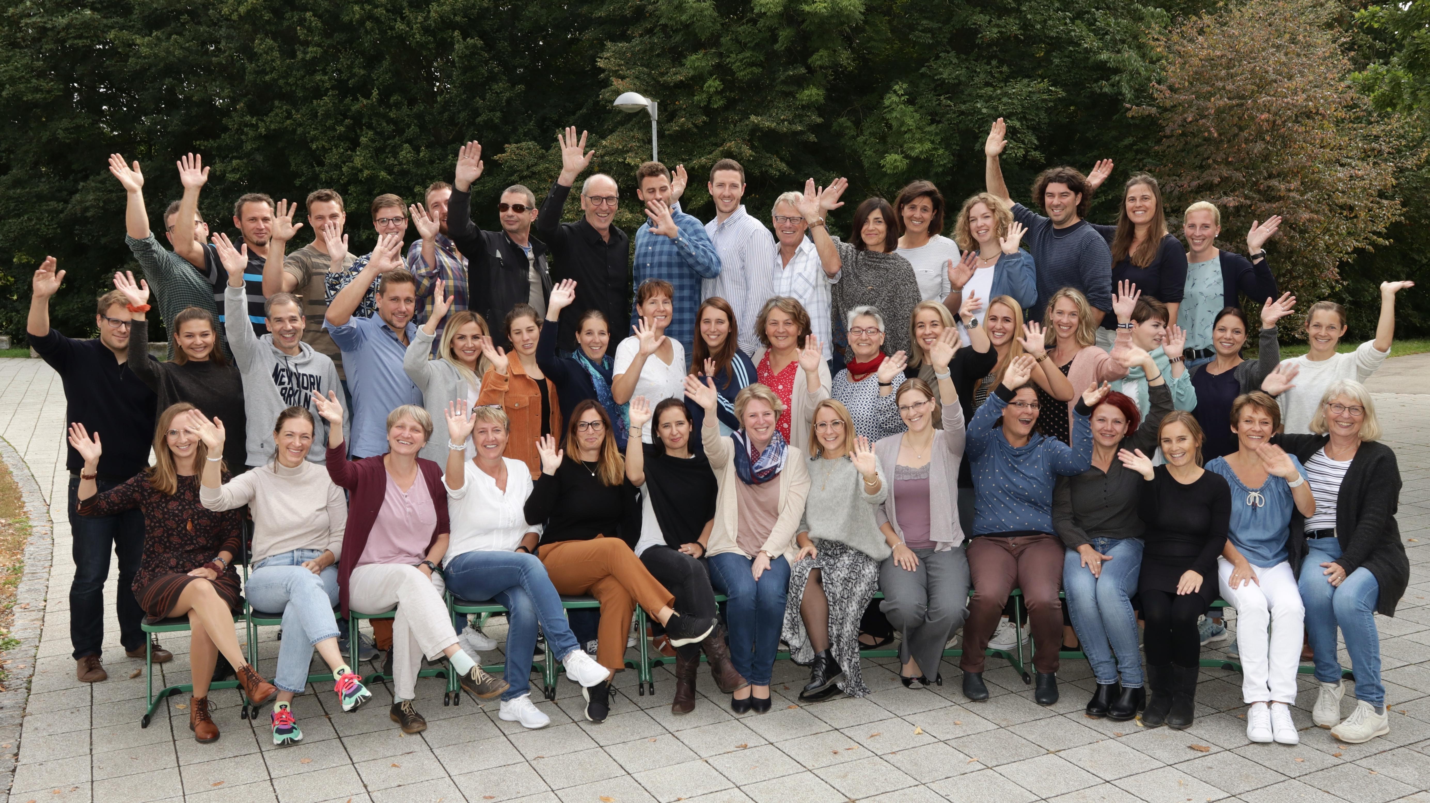 Das Kollegium der Glemstalschule (2019)