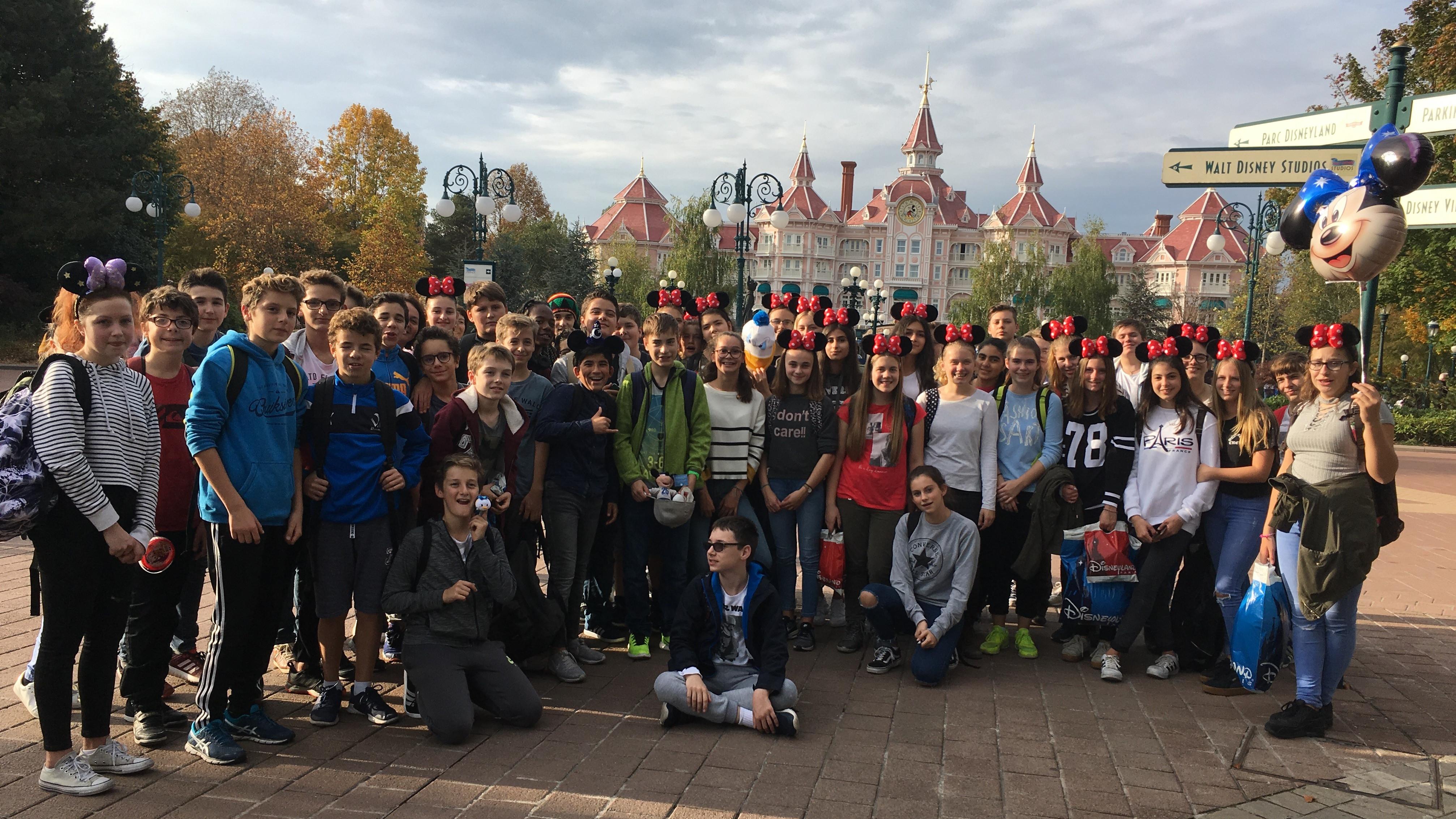 Ausflug ins Disneyland Paris