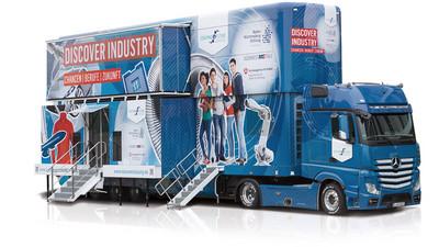 ANKÜNDIGUNG: Der Discover Industry Truck kommt