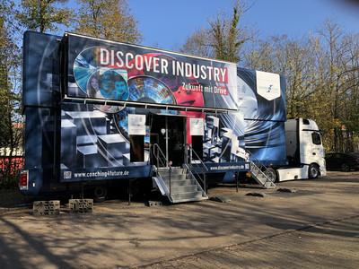 Der Discover Industry-Truck kam...