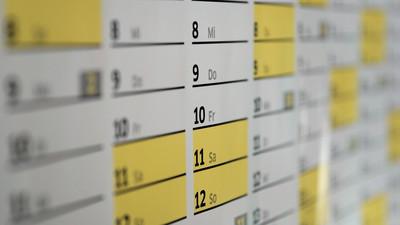 Ferienkalender Schuljahr 2021/22